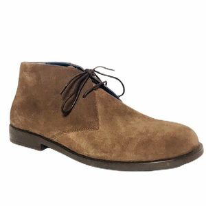 Birkenstock Brown Suede Lace-Up Chukka Boots 42/11